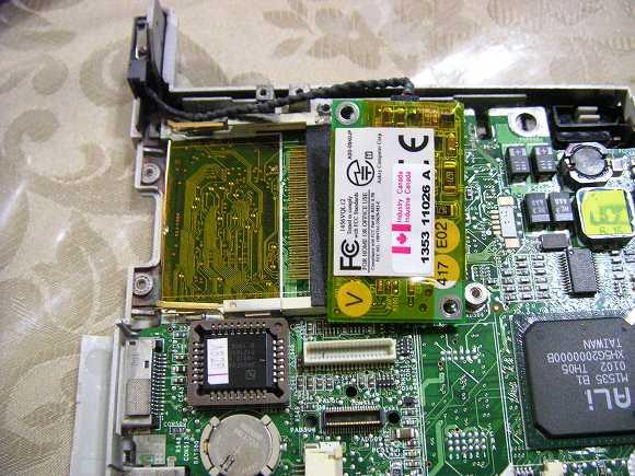 MPC-206VLモデム