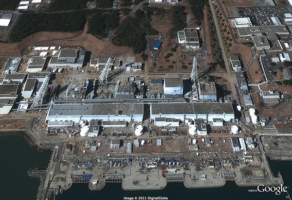 福島第一原発全景