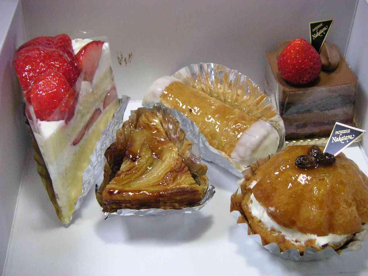 中田屋のケーキ