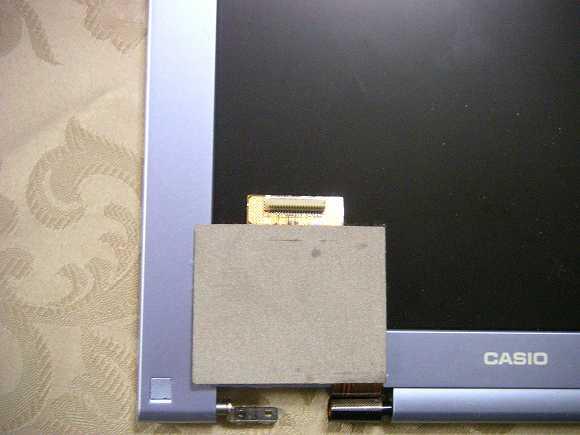 MPC-206VL-01液晶のコネクター